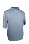 Adidas Mens Rugby-Style Climalite Solid Polo