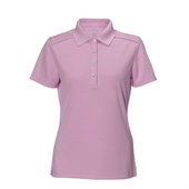 Callaway Ladies Chev Polo 4 Buttons - Pink