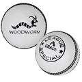 Woodworm Junior Special 4 ¾oz Cricket Ball WHITE