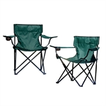 Woodworm Folding Camping Chairs 2 pack