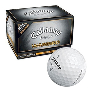 12 Callaway Warbird Golf Balls - PERSONALISED