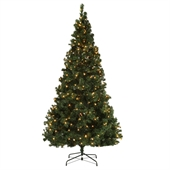 Homegear Pre-lit 7.5ft Artificial Christmas Tree - Image 1