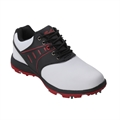 Confidence III Waterproof Golf Shoes - White/Black