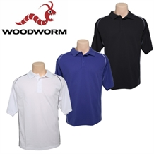 Woodworm PowerDry Golf Polo Shirt -3 pack