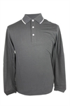 Ashworth Mens Long Sleeve Polo Shirt