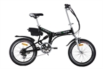 Cyclamatic Pro Suspension Foldaway Electric Bike