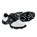 Woodworm Golf Tour Golf Shoes WHITE/BLACK