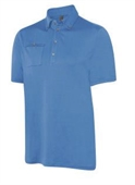 Ashworth Solid Interlock Pocket Polo
