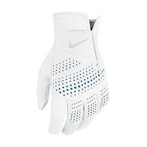 6 x Nike Tour Classic II Leather Golf Glove White