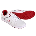 Woodworm Surge V2.0 Golf Shoes - White/Red
