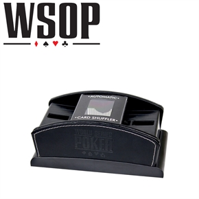 World Series Of Poker Leather Card Shuffler