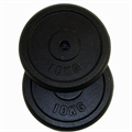 Confidence 20kg Cast Iron Weight Plates (2 x 10kg)