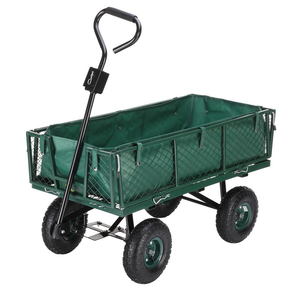 Palm Springs Heavy Duty 4 Wheel Garden Trolley Wheel