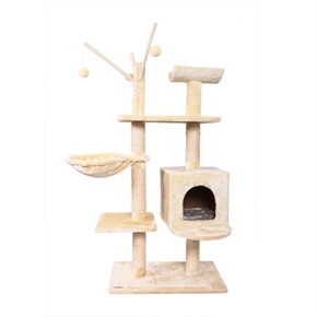Confidence Pet Executive Cat Tree Beige