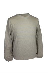 ASHWORTH PLAIN V NECK SWEATER