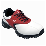 Woodworm Golf Junior Golf Shoes WHITE/RED