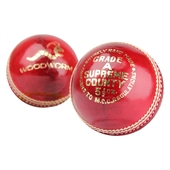 6 x Woodworm Supreme County 5 1/2oz  Cricket Balls - Image 1