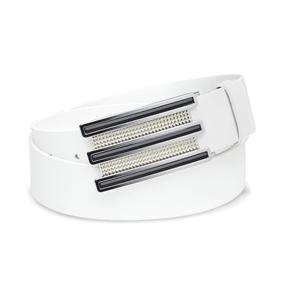 Adidas Trophy Belt - White/Chrome