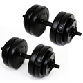Palm Springs 30kg Vinyl Dumbbell Weights Set