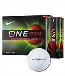 2 x 12 Nike One RZN Golf Balls - White