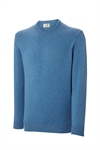 Ashworth Mens LS Crew Neck Lambswool Sweater