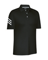 Adidas Mens ClimaCool 3-Stripe Polo