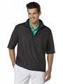 Callaway Gust Short-Sleeve 1/4 Zip WindShirt Black