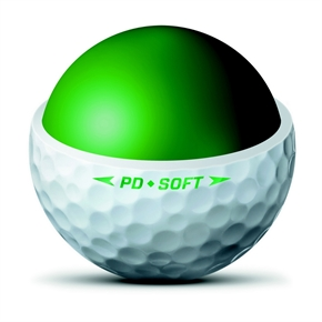 Nike Power Distance PD9 Golf Balls White