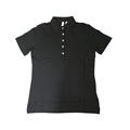 ASHWORTH LADIES 5 BUTTON PLAIN POLO