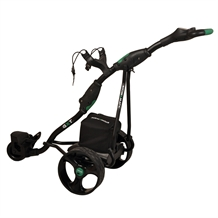Stowamatic GXT Electric Golf Trolley BLACK