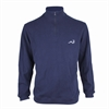 Woodworm 1/2 Zip Sweater NAVY