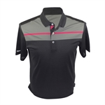 Ashworth Performance Chest Print Polo