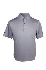 ASHWORTH MENS 3 BUTTON PLAIN POLO SHIRT