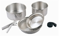 5pc Silver Cook Set by Camping.co.uk