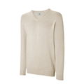Ashworth Mens Lambswool V Neck Sweater