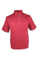 ASHWORTH MENS CORAL POCKET POLO SHIRT