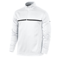 Nike Golf 1/2 Zip Therma Fit Cover Up - White/Blk