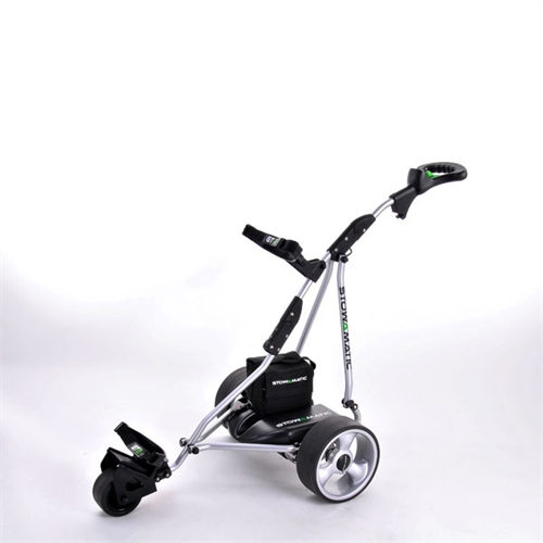 stowamatic gt2 electric golf trolley the sports hq. Black Bedroom Furniture Sets. Home Design Ideas