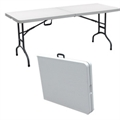 Folding Portable 8ft Party Table