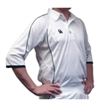 CA Cricket Micro Mesh Shirts - Navy Trim