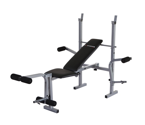 Home Gym Bench Set: Confidence Fitness Home Gym Multi Use Weight Bench