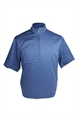 Ashworth Golf Mens SS Plain Half Zip Windshirt