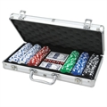 CQ Poker 300 Dice 11.5g Poker Chips in Alu Case