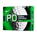 Nike PD8 Soft Golf Balls - White - 1 Dozen