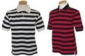 Ashworth Junior Oxford Stripe Golf Shirt