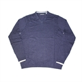 ASHWORTH V NECK SWEATER WITH TRIM