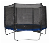 Woodworm 8FT Trampoline - Safety Net/Ladder/Cover