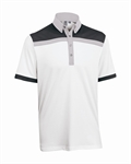 Ashworth Mens Block Print Polo