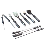 Palm Springs Deluxe 10 Piece BBQ Set