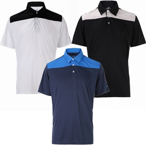 Woodworm Panel Golf Polo Shirts- 3 Pack